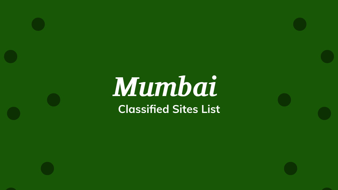 Free Classified Sites List in Mumbai